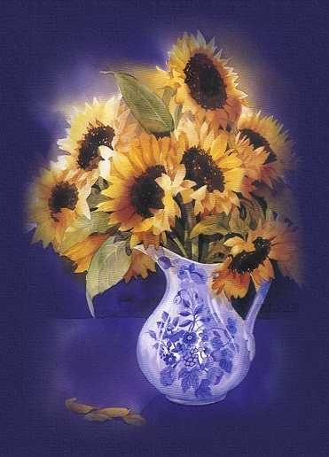 Simply Sunflowers written by Joyce Ann Geyer with love......