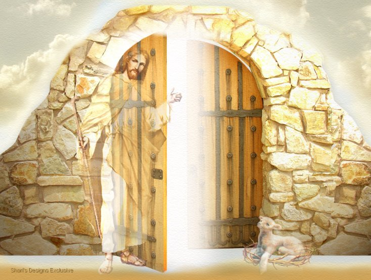 Jesus at Heaven's Door........