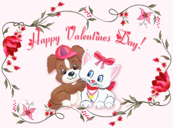 Happy Valentine's Day my friend........