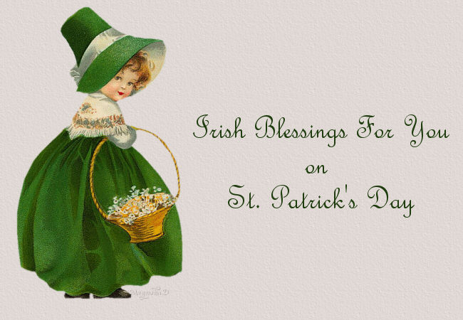 Irish Blessings For You......