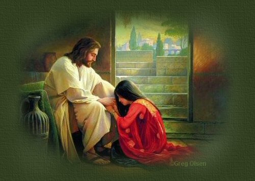 At times when I kneel before the Lord,I hardly know what to say......
