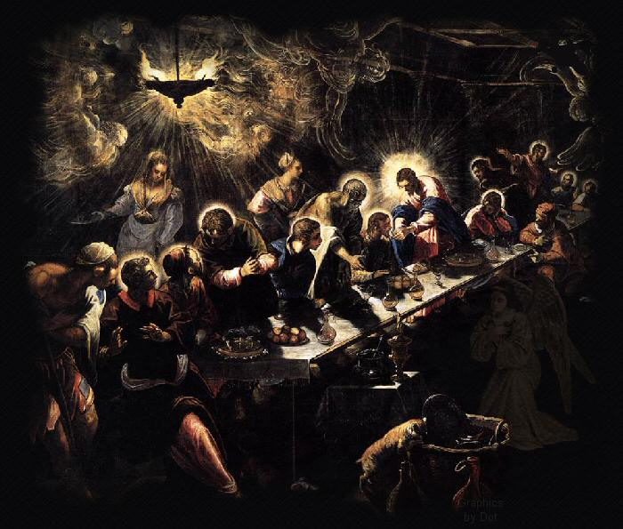 The Last Supper Jesus gathered His twelve apostles.......