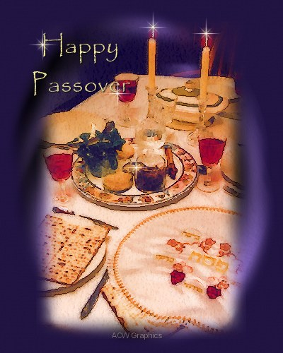 Happy Passover by ACW Graphics