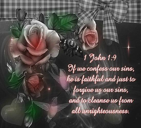 1 john 1 9 kjv christian friendship scripture ecard