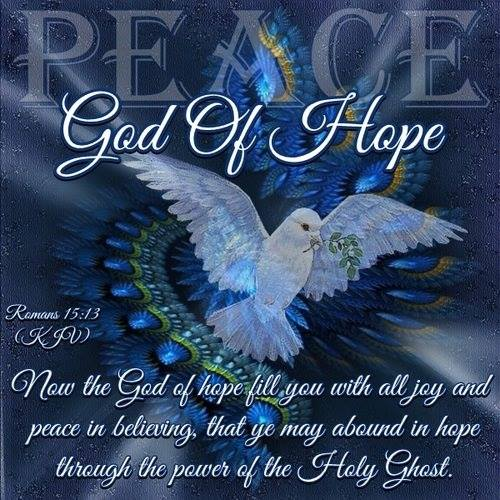 God Of Hope.......