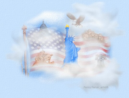 I am OLD GLORY, I Stand for you.........