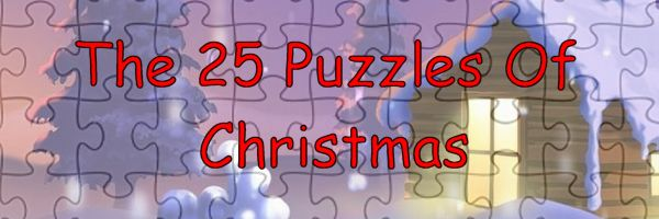 25 Puzzles Of Christmas...